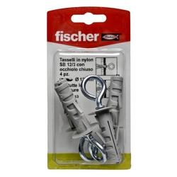 FISCHER - 4 Tasselli Con Occhiello Sb 12/3 K