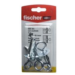 FISCHER - 4 Tasselli Con Occhiello Sbs 9/3 K