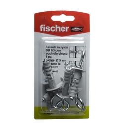 FISCHER - Tasselli A Espansione Con Occhiello Tipo Sb 9/3k