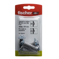 FISCHER - Tasselli A Espansione Con Vite Tipo Sb 9/4k
