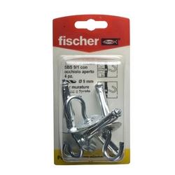 FISCHER - 4 Tasselli Con Occhiello Sbs 9/1 K