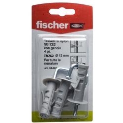 FISCHER - 4 Tasselli Con Gancio Sb 12/2 K