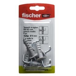 FISCHER - Tasselli A Espansione In Nylon Tipo Sb 9/2k