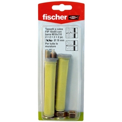 FISCHER - 2 Tasselli A Calza Con Barre