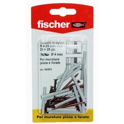 FISCHER - 25 Fissa Battiscopa N4-35k