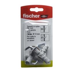 FISCHER - 4 Tasselli Con Gancio Sb 12/8 K