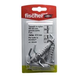 FISCHER - Tasselli A Espansione Con Gancio Tipo Sb 9/8k