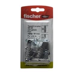 FISCHER - Tasselli A Espansione Con Gancio Tipo Sb 9/9k