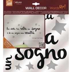 Adesivi Wall Decor M Words Up Metallic-13,95 €