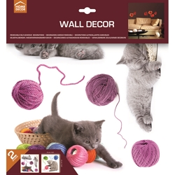 HOME DECOR - Adesivi Wall Decor Cats Lovely Pets