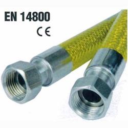 Tubo Gas Flessibile 1/2 F.F. Norma En14800-17,99 €