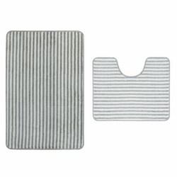 IDROBRIC - Set 2 tappeti per lavabo e wc