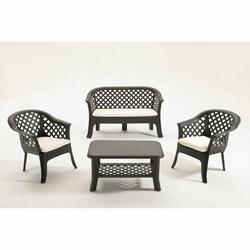 IPAE - Set Veranda 2 poltrone + divano+ 1 Tavolino