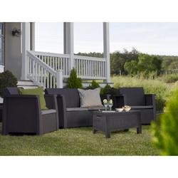 PRIMATRONIC - Set Denver 1 divano+2 poltrone+1 tavolino