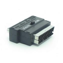 METRONIC - Adattatore RCA /S-video/Scart