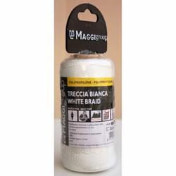 MAGGI CATENE - Rocchetto Treccia Polipropilene Bianca Mt. 100