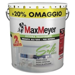 MAX MEYER - Idropittura Soft White