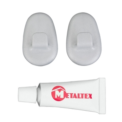 METALTEX - Ganci Safe Fix con colla