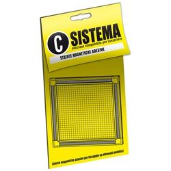 MEDAL - Sistema 10 Strisce Adesive Magnetiche Da 20cm