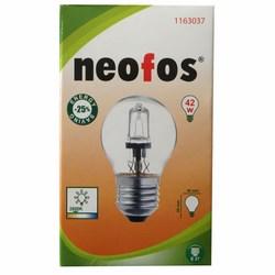 NEOFOS - Lampadina eco-alogena P45 con attacco E27