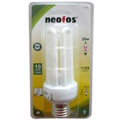 NEOFOS - CLO LAMPADINA 4 TUBI SLIM 20W E 27 LUCE CALDA