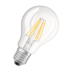 OSRAM - LED Base CL A 60 6W/827 E27 Bipack