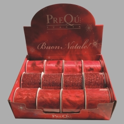 PREQÙ - Nastro Rosso decori assortiti