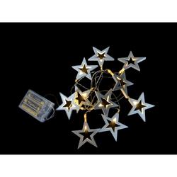 PREQÙ - 10 stelline di legno luminose