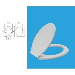 SANIPLAST - Sedile wc Z2
