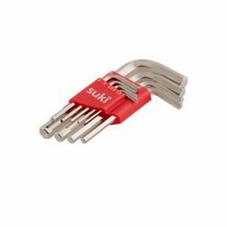 SUKI - Set di chiavi esagonali corte