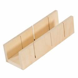 SUKI - Box taglia cornici in legno 245x53x40 mm