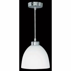TRIO - Lampada a sospensione con cupola in vetro opale