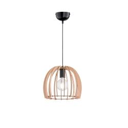 TRIO - Lampadario Wood Cupola
