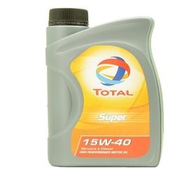 TOTAL - Lubrificante Super 15W40 da 1 Lt