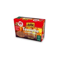 TUTTO FUOCO - Accendifuoco Ecologico 96 tavolette