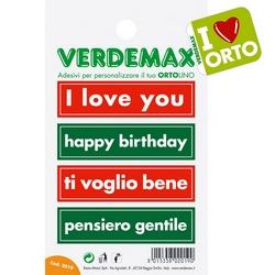VERDEMAX - Etichette adesive Ortolino