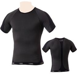 Edis T-Shirt Manica Corta Nero/Grigio-24,00 €