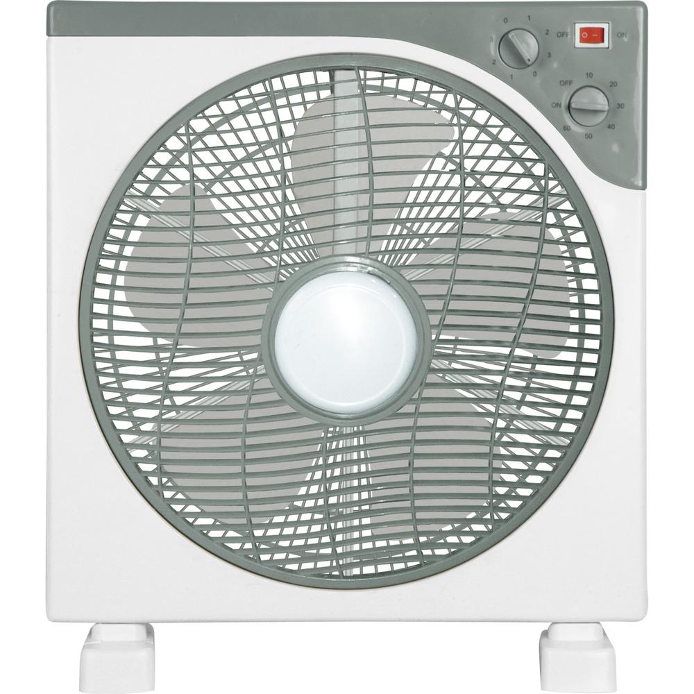 Master Ventilatore in box fan 30cm, Grigio, Bianco, AC