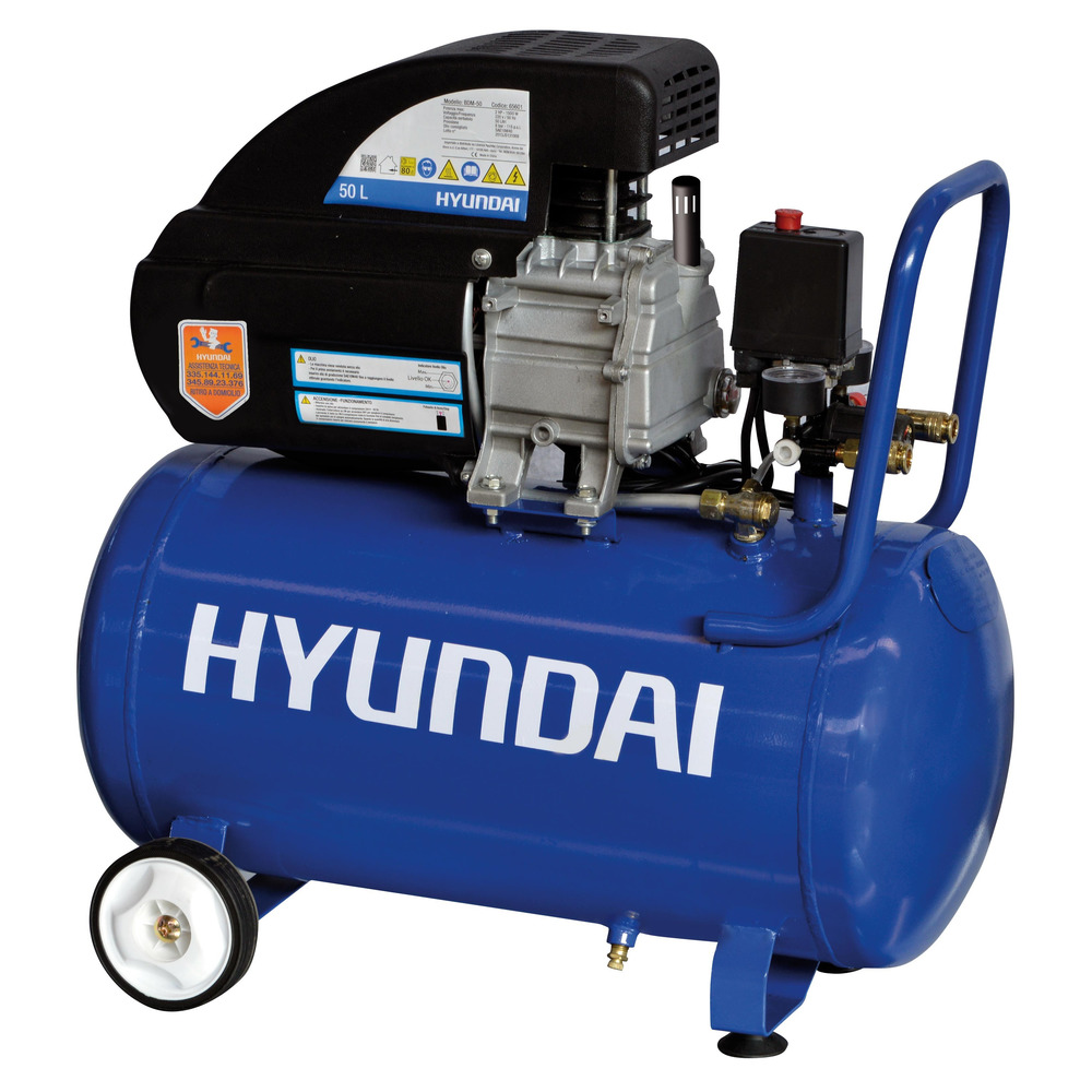 Hyundai BDM50 Compressore ad Olio 50 Lt
