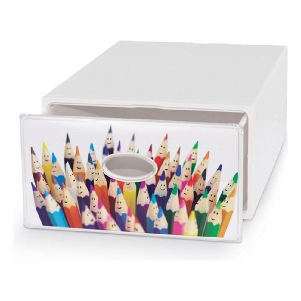 Contenitori In Plastica Brico.Facility Contenitore Multiuso 28x40x15 Cm Shop Online Su Brico Io