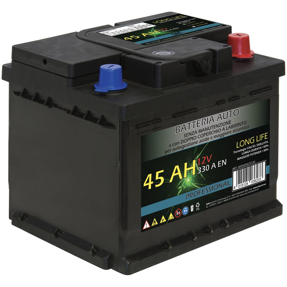 Batteria Auto 45Ah