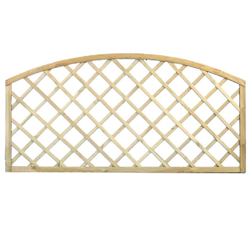 Rivestire Un Arco In Legno traliccio ad arco 180x90cm