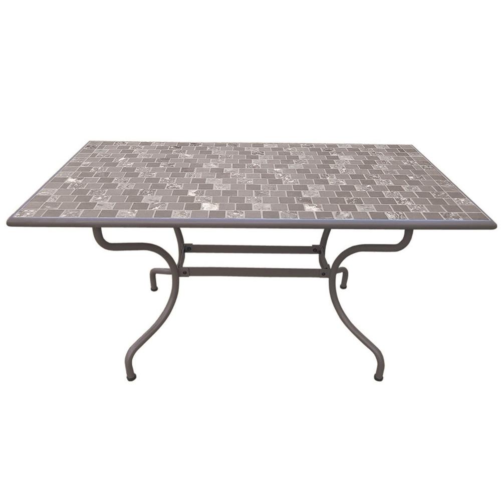 Tavoli E Sedie Da Giardino Brico.Tavolo Mosaico