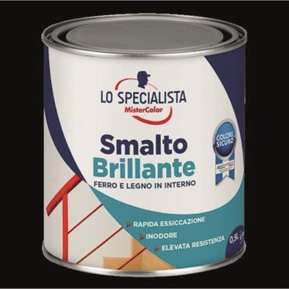 MCS Smalto all' Acqua Bianco Ghiaccio Brillante 50