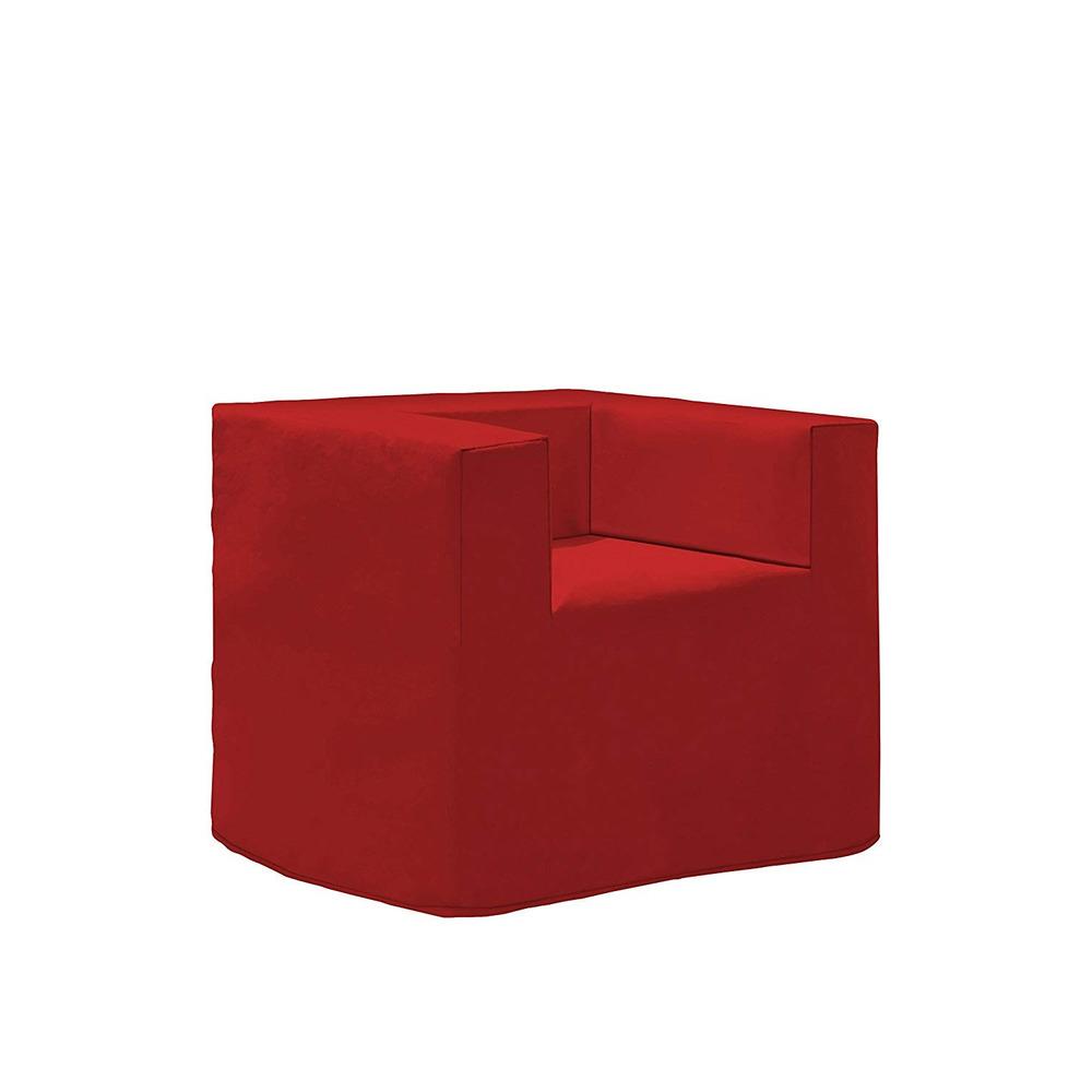 Poltrona Letto Rossa.Pouf Poltrona Letto Evolution Plus A7 Rosso