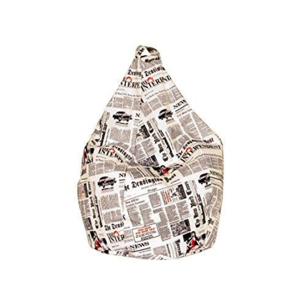 Poltrona Sacco Newspaper A1 Fantasia
