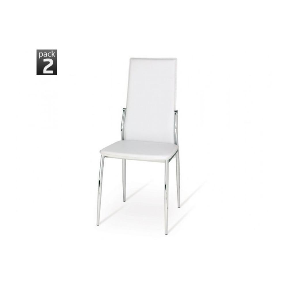 Set 2 Sedie Edera A3 Bianco