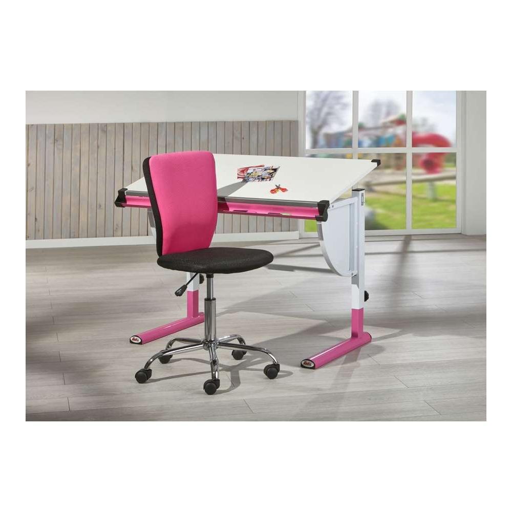 Sedie Da Ufficio Rosa.Kestile Sedia Ufficio Judy A3 Rosa Nero Shop Online Su Brico Io