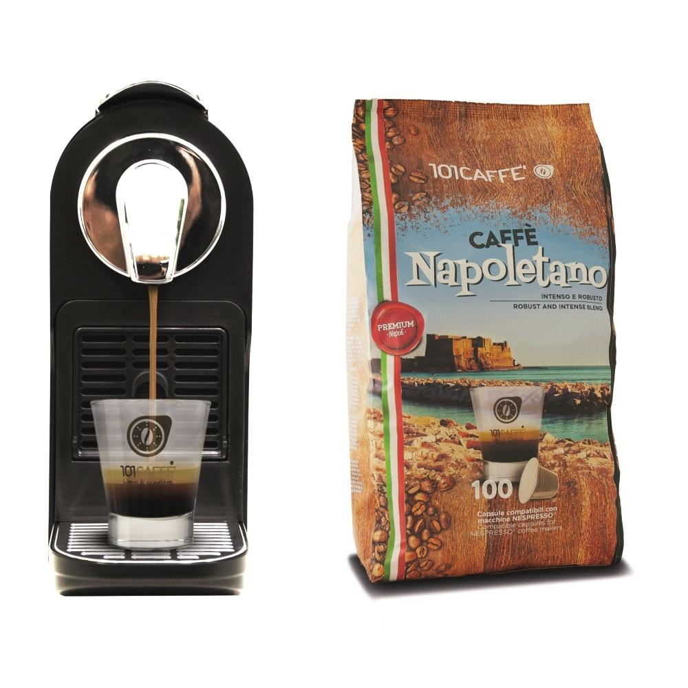 Macchina Caffè Espresso Alpha + 100 Cialde