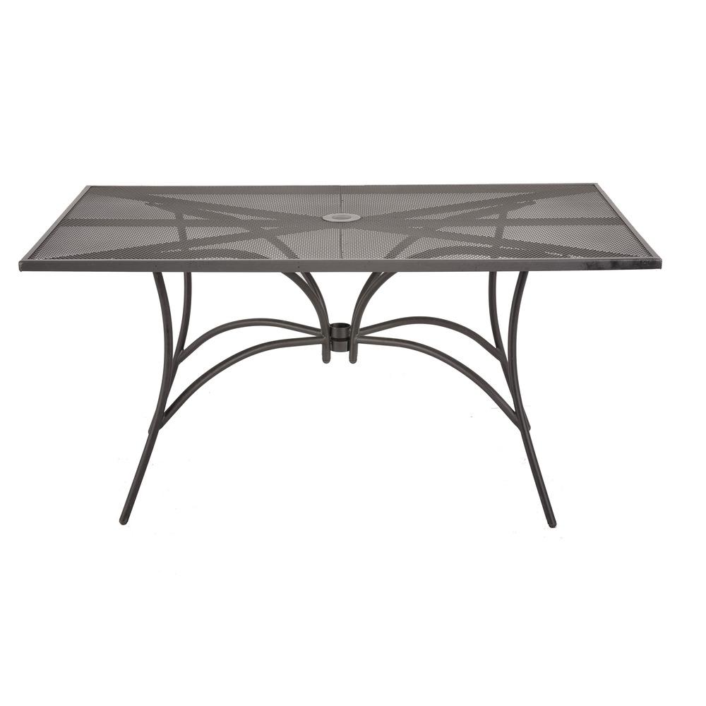 Tavolo Rettangolare in Acciaio 150x90 cm